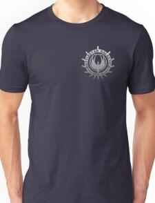 Battlestar Galactica - Chrome Logo Unisex T-Shirt