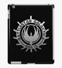Battlestar Galactica - Chrome Logo iPad Case/Skin