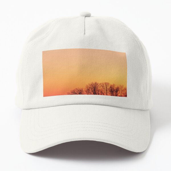 Cop sunset Dad Hat