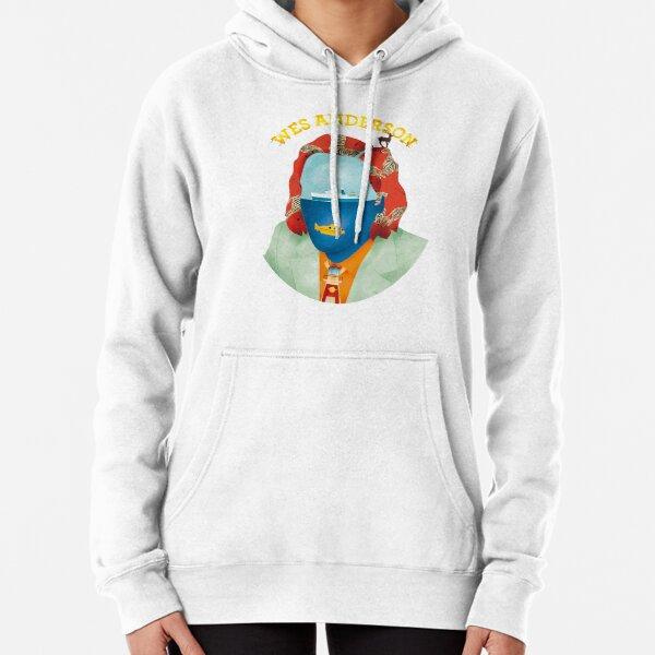 Wes Anderson's world Pullover Hoodie