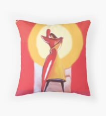 Love starts with U& Me- Art + Products Design / Painting & Mixed Media Throw Pillow