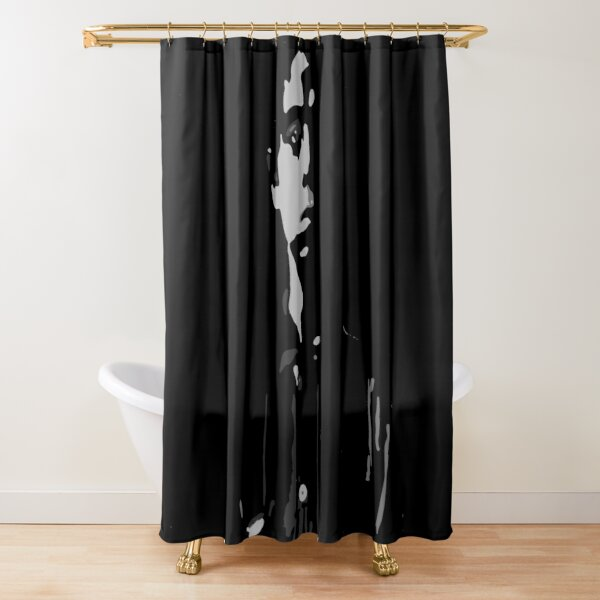 fading away by dePace' Shower Curtain