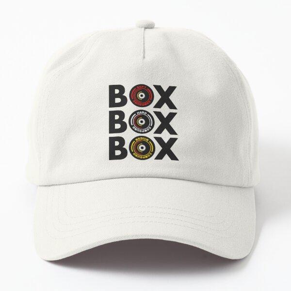 Box Box Box Infographic F1 Tyre Compound Design Dad Hat