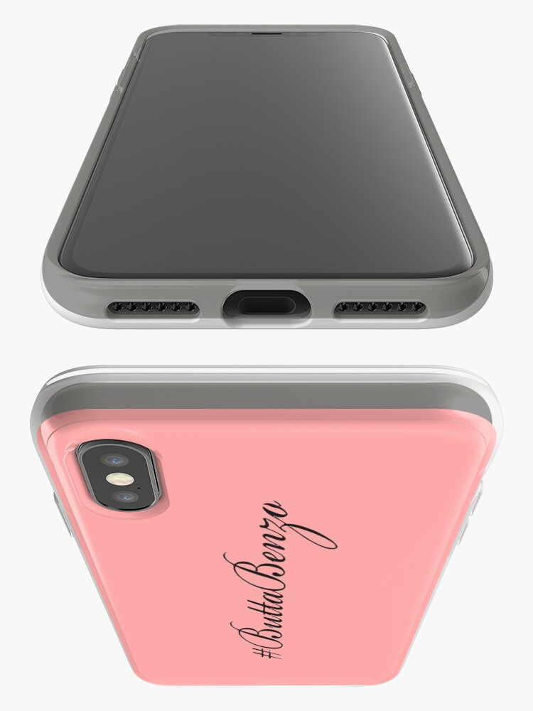 Alternate view of #ButtaBenzo iPhone Case & Cover