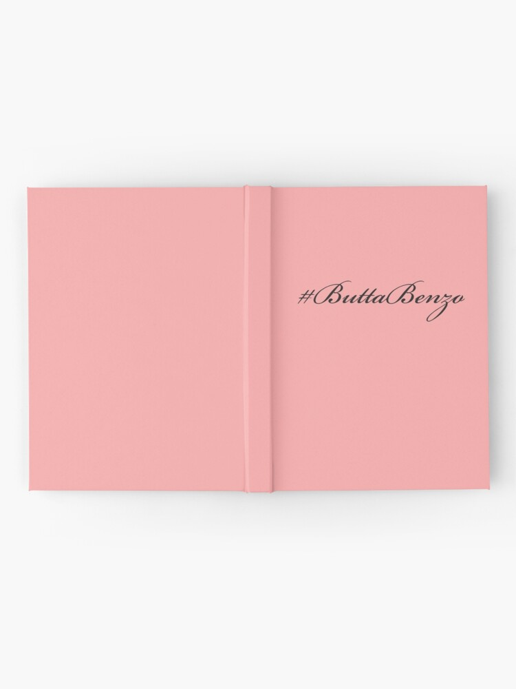 Alternate view of #ButtaBenzo Hardcover Journal