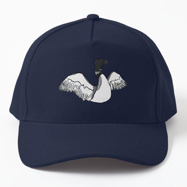 common loon Baseball Cap