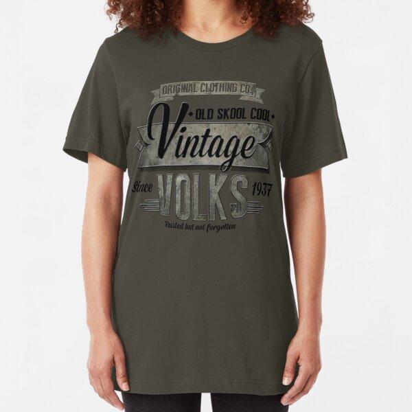 NEW Men's Vintage Car T-Shirt Slim Fit T-Shirt