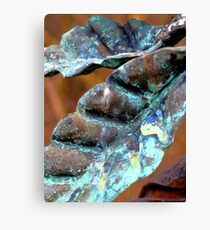 Patina Flower 3 Canvas Print