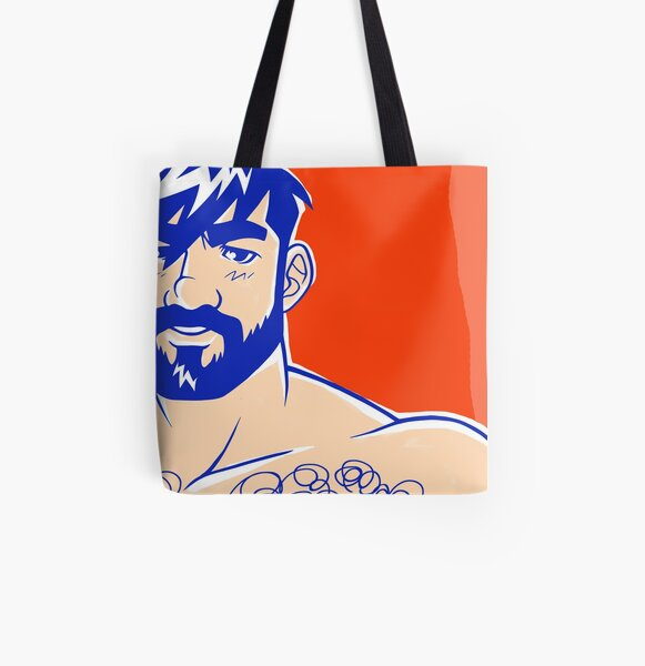 ADAM LIKES RED All Over Print Tote Bag