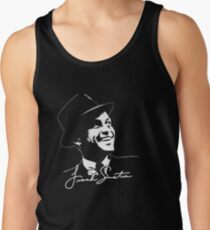 Frank Sinatra - Portrait and signature Men's Tank Top