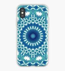 Sea Green Mandala iPhone Case