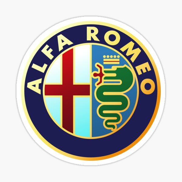 Alfa Romeo - Classic Car Logos Sticker