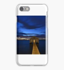 Crawley Boatshed 01 iPhone Case/Skin
