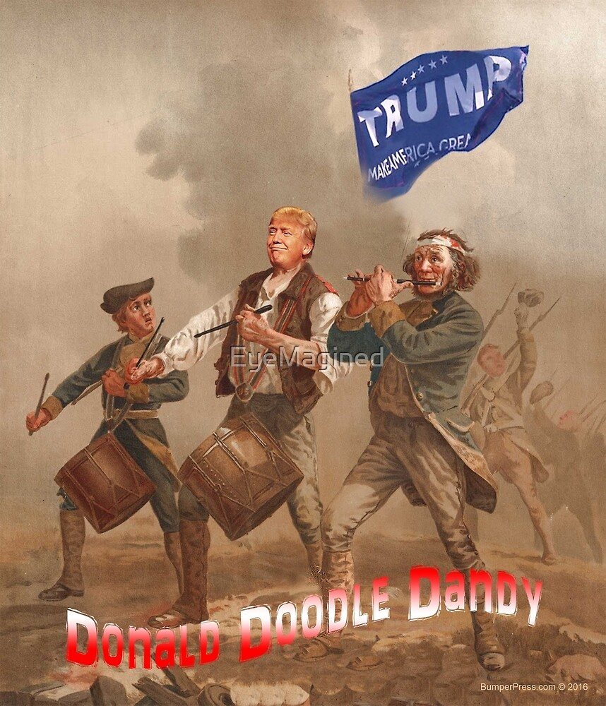 Donald Doodle Dandy by EyeMagined