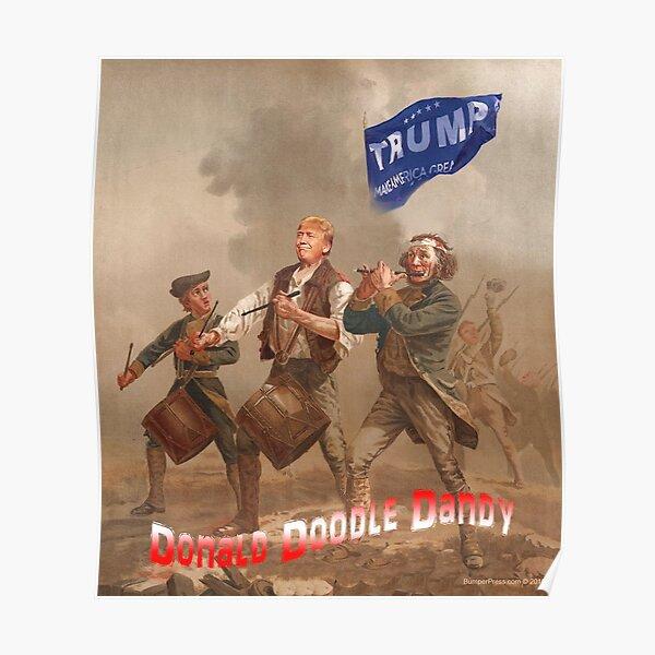 Donald Doodle Dandy Poster