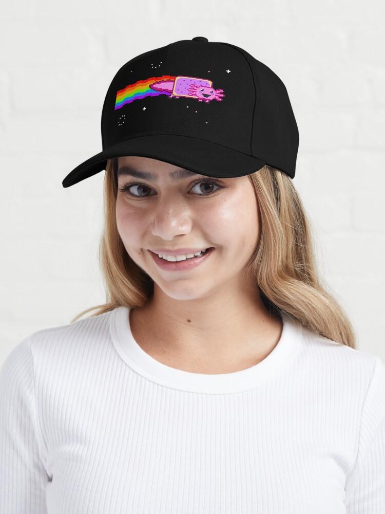 Alternate view of Nyan Axolotl Cap