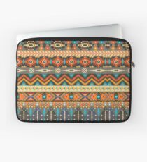 Colorful  tribal pattern with geometric elements Laptop Sleeve