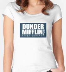 the office Women's Fitted Scoop T-Shirt