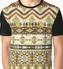 Navajo colorful  tribal pattern with geometric elements Graphic T-Shirt
