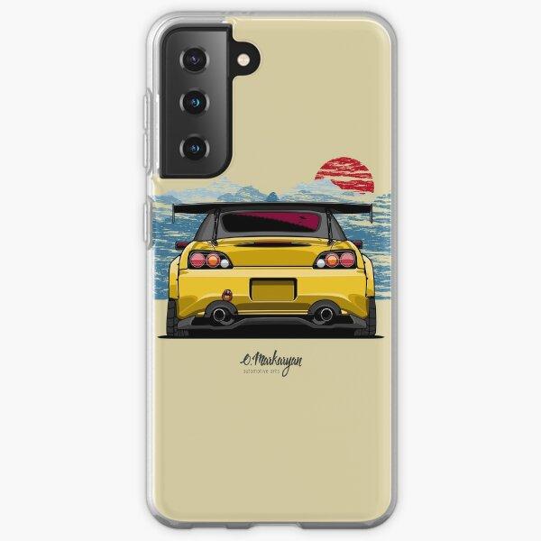 S2000 (yellow) Samsung Galaxy Soft Case