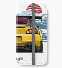 S2000 (yellow) iPhone Wallet/Case/Skin