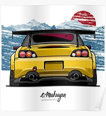 S2000 (yellow) Poster