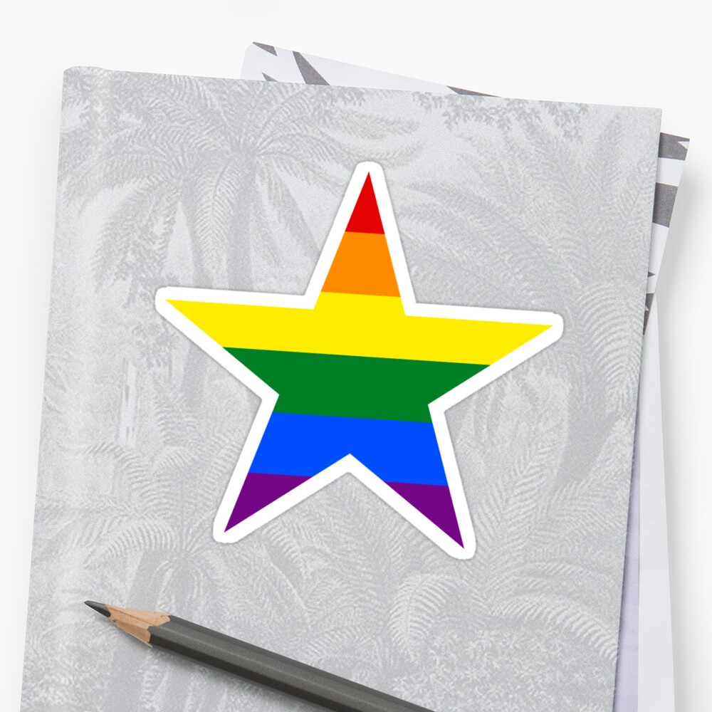 Gay Pride Star 121