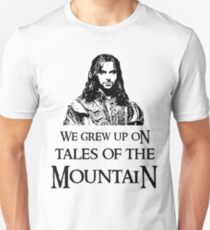 """We Grew Up On Tales Of The Mountain."" T-Shirt"