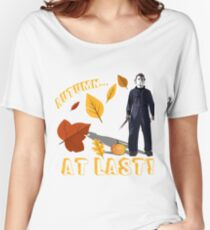 Autumn at Last Women's Relaxed Fit T-Shirt