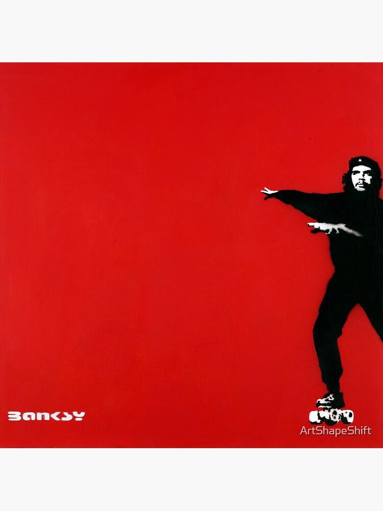 Banksy | Che Guevara on Roller Skates |  by ArtShapeShift