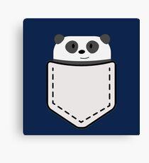 Pocket Panda Canvas Print