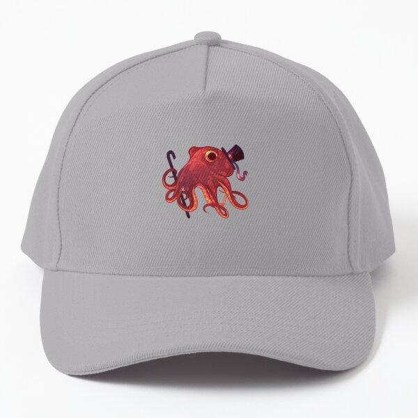 Red Octopus Gentleman  Baseball Cap