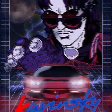 Kavinsky Movie Poster by DickChappy01
