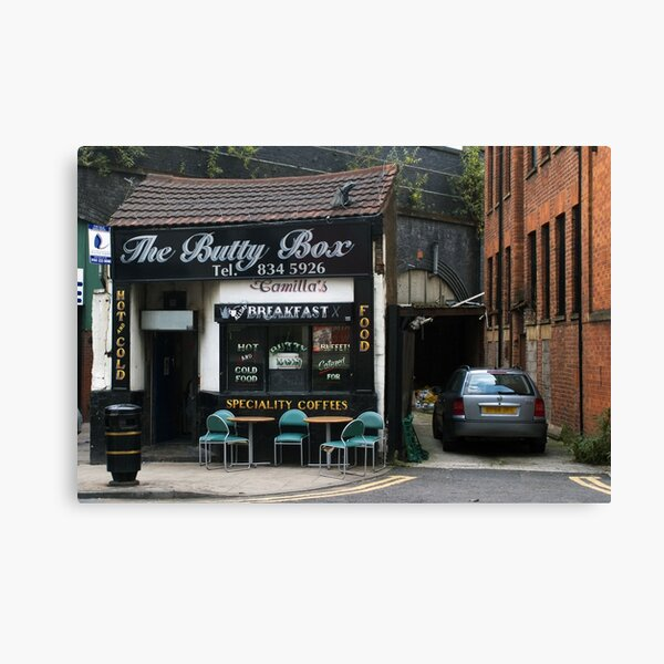 The Butty Bar Canvas Print