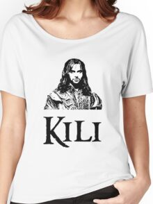 Kili Portrait Women's Relaxed Fit T-Shirt