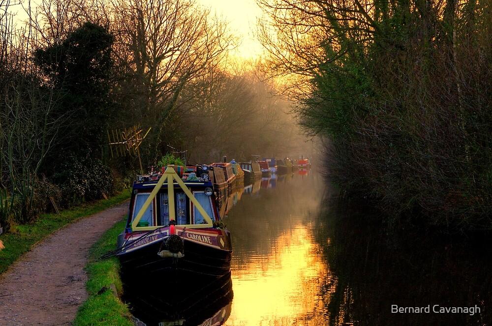 Canal Sunset by Bernard Cavanagh