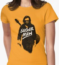 Sixto Rodriguez | Sugar Man Women's Fitted T-Shirt