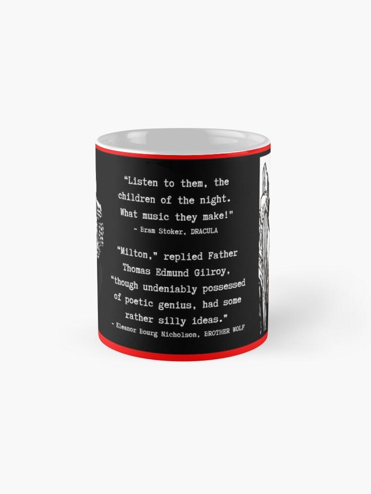 Alternate view of Brother Wolf mug Mug