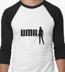 P-UMA (A Kill Bill take on Puma) Men's Baseball ¾ T-Shirt