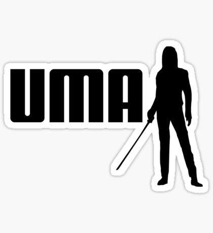 P-UMA (A Kill Bill take on Puma) Sticker