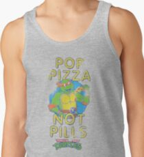 Pop Pizza Not Pills Tank Top