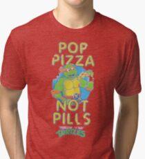 Camiseta de tejido mixto Pop Pizza Not Pills