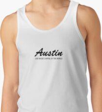 Austin live music (black) Tank Top