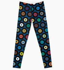 VINYL blau Leggings
