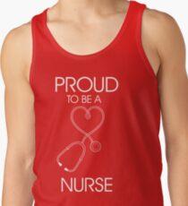 Proud to be a nurse Tank Top