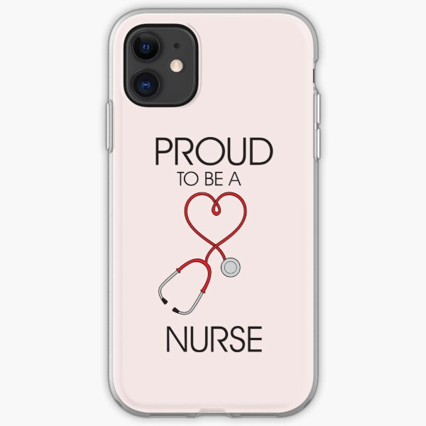 Proud to be a nurse iPhone Soft Case