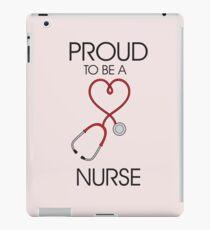 Proud to be a nurse iPad Case/Skin