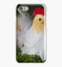 Easter hen iPhone Case/Skin