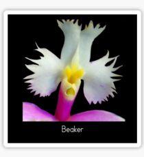 Beaker - Orchid Alien Discovery Sticker