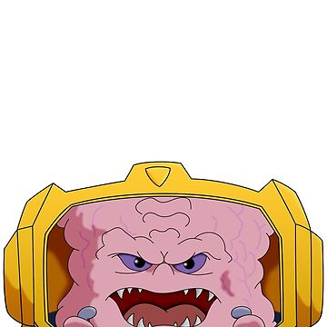 Krang from Dimension X by JaredMcGuire